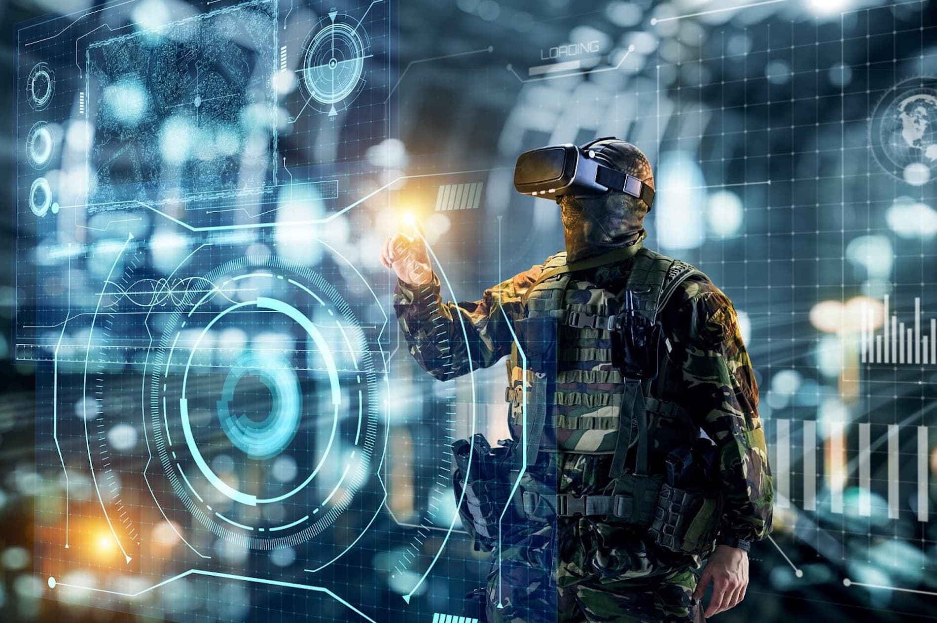 Virtual Environment Soldier