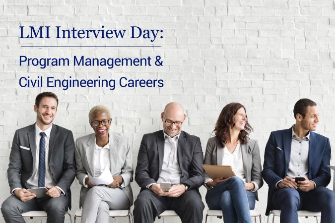 Interview Day: Program Management and Civil Engineering Professionals