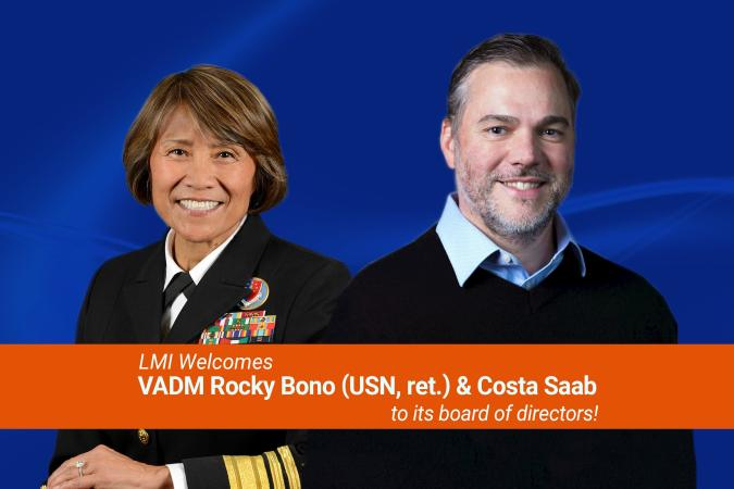 LMI Welcomes VADM Rocky Bono and Costa Saab to Board
